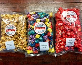 Candy Popcorn Stocking Stuffer Deal Pick 3 Flavors Secret Santa Gifts