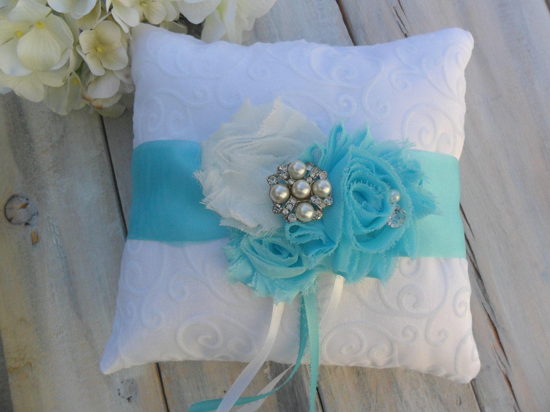pillow chaple white decor bearer ring shop