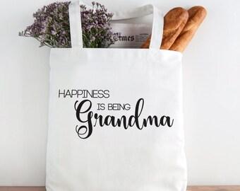Happiness is being Grandama, Grandma, Grandma birthday, mothers day gift, grandmother, mothers day, mothers day gift for grandma