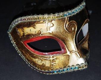 Original Venezia Hand painted Italy Masquerade Ball Mask