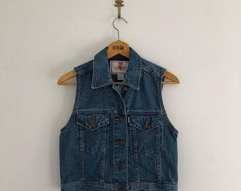 Vintage 90's Levi's Denim Vest S