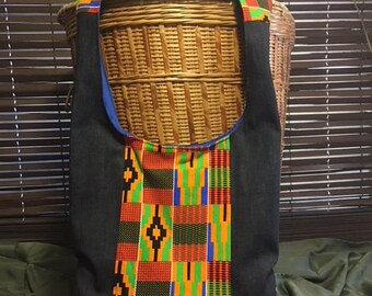 Kente Bohemian Cross Body Bag