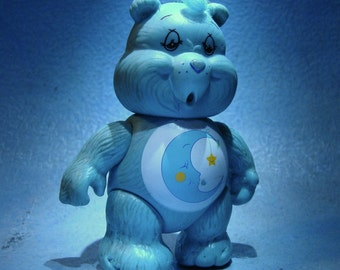 Vintage Care Bears Bedtime Bear Action Figure