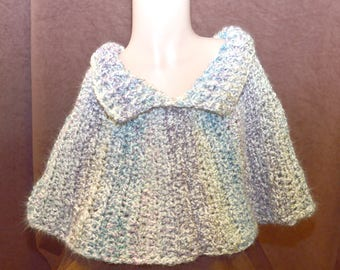 Berries and Cream Capelet
