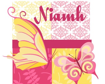 Bright Butterfly Printable Party set as seen on AMY ATLAS