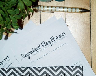 blog planner weekly pages
