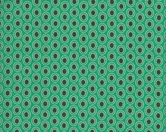 Art Gallery Fabrics Oval Elements in Emerald Coast - Half Yard