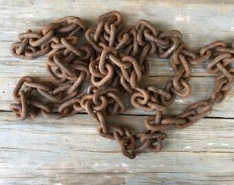Vintage log chain