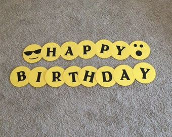 Sample Sale Happy Birthday Banner