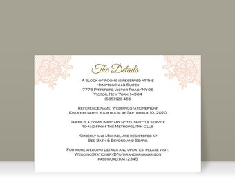 Reception card etsy printable insert cards wedding information card reception card diy wedding templates wedding info card u change color and teksfs23 stopboris Choice Image