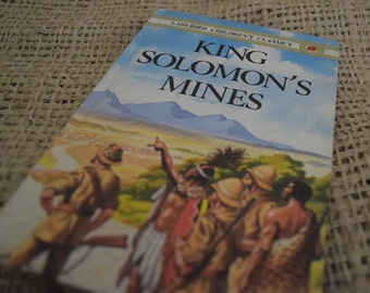 King Solomon's Mines. A Ladybird Children's Classic Book. First Edition. 1982