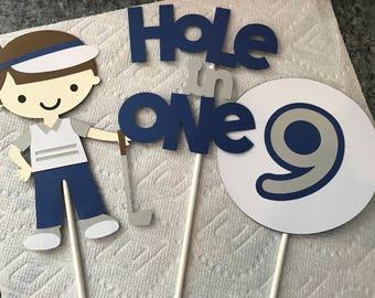 Three Piece Golf Centerpiece