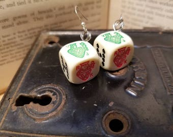 Poker Dice Earrings