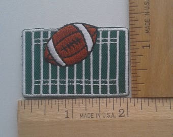 Football  embroidered patch