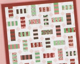 Cartwheel #125 ~ Lella Boutique ~ Paper Quilt Pattern ~ Charm Pack Quilt
