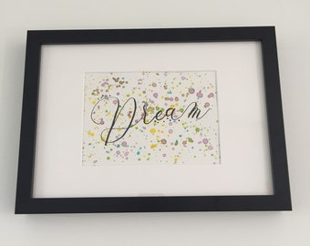 "Watercolor and ink painting ""Dream"" #1 made"