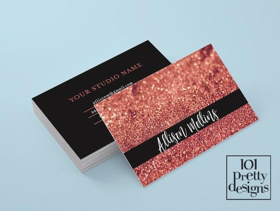 makeup artist bussiness cards