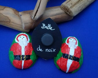 Santa on a coconut shell!