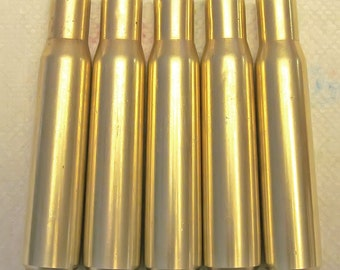 Authentic 50 Caliber BMG Brass Empty Shell Casings for Craft or Art Creation - Choice of 10 or 20 Piece Sets - 7.45 Flat Rate Shipping