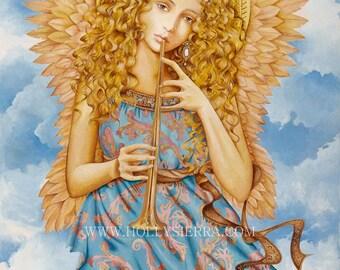 Renaissance Angel - A Florentine Goddess Of Song