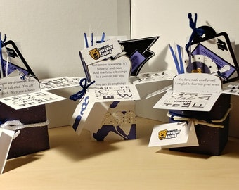GraduationHandmade pop up box Penn State 3 Variations -  Free Shipping in USA