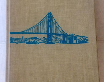 Vintage 1952 First Edition Herb Caen's Guide to San Francisco, Signed by Author, Illustrated