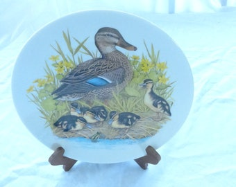 Mallard Family Mothers's Day Plate 1976