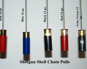 Shotgun Shell Ceiling Fan Chain Pulls