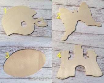 Unfinished Wooden Shapes, Wood Animals, Wood Shapes, Child's Room, Decorations, Craft Supplies, Brand New, Unused