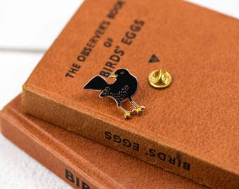 Blackbird Luxury Hard Enamel Pin