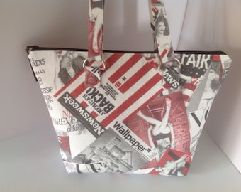 Vogue  Fabric Shoulder Bag