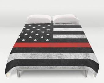Explore world map comforter or duvet cover twin twin xl thin red line comforter or duvet cover set matching pillows twin twin xl full queen king american flag gumiabroncs Gallery