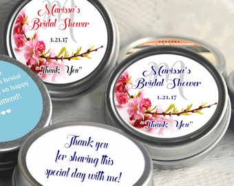 12 Bridal Shower Mint Tins - Personalized Mint Favor - Mint to Be -  Wedding Favor - Personalized Bridal Shower Favor - Mint Tin Favors