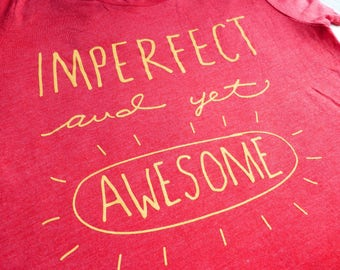 AWESOME GIRL'S RELAXED Tee Positive Pro Girl Self Love T-shirt