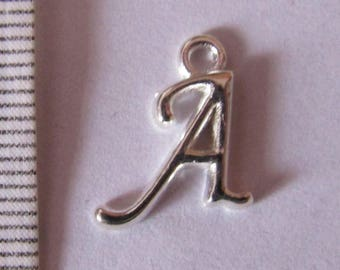 "letter ""A to J"" 3series Silver Pendant"