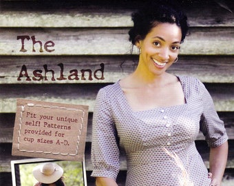 Sewing Pattern for The Ashland Dress, Indie Designer Sew Liberated, Sizes 2-20 with A-D Cups, Uncut