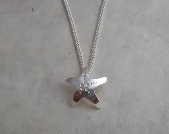 Sterling Silver 'Sea Star' Pendant