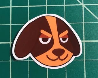Animal Crossing Sticker | Butch