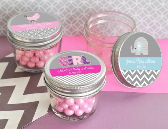Baby Shower Mini Mason Jar Favors 4 Oz Mason Jar Small Mason