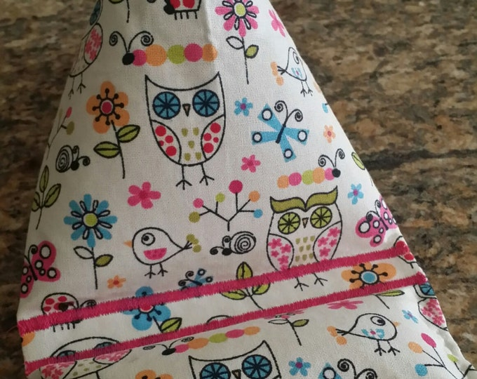 Gadget Bags-Cell Phone Stand-Cell Phone Pillows-Whimsical Collection (Who Stick Owl )