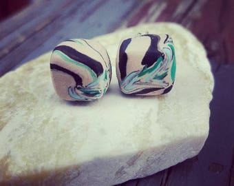 SALE  Polymer Clay stup Earrings