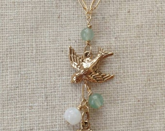 Nesting Swallow Necklace