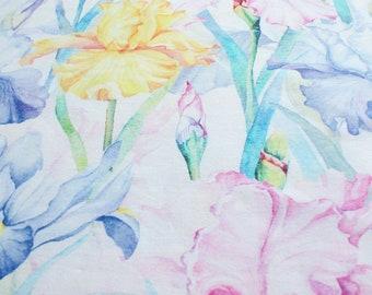 Single Jersey IRIS || Cotton Lycra Jersey || Knit Fabric || Digital Print Fabric || Fabric by the half yard