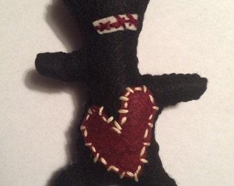 Jeff...an Adorable handmade  voo doo doll