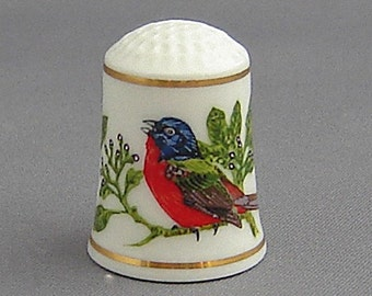 Franklin Thimble - Painted Bunting (Songbirds Series)