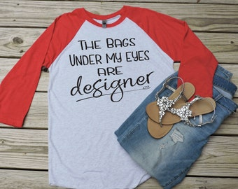 Designer Bags Raglan Tee