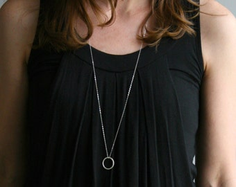 Single Threat: Circle | Fine & Sterling Silver Necklace