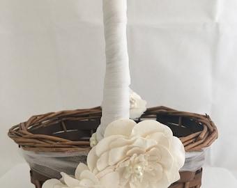 Flower Girl Basket, Flower Girl, Wedding Decor