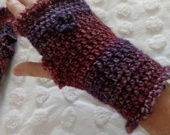 Crochet Finger less Gloves