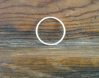 Silver Stacking Ring Knuckle Ring- Free Shipping, sterling ring, silver ring, simple ring